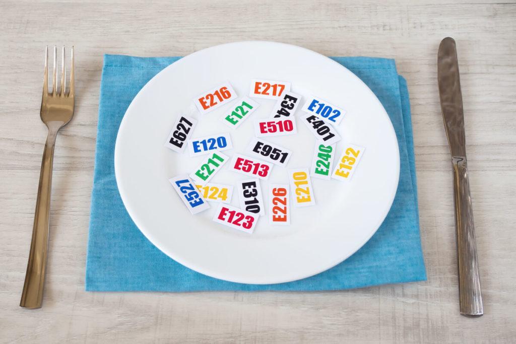 dodatki do żywności E