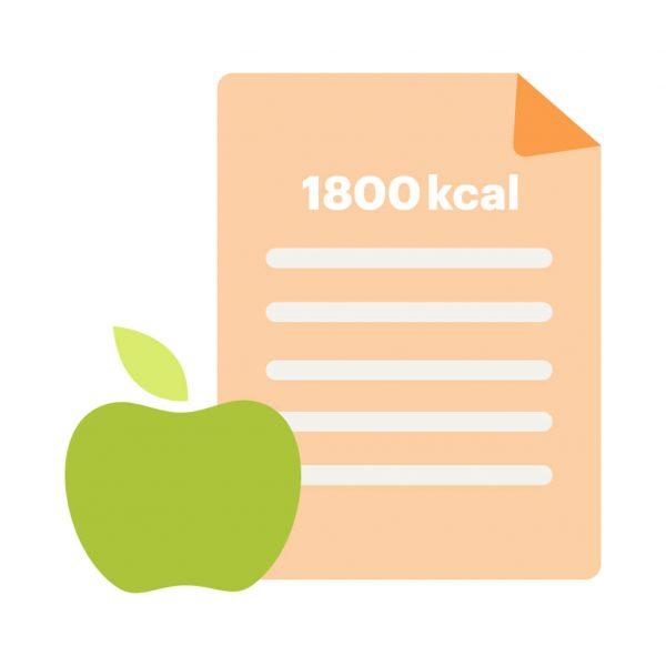 dieta odchudzająca 1800 kcal