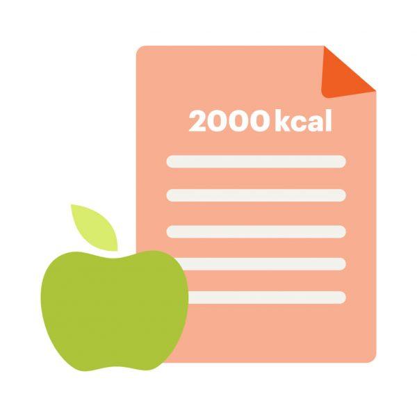 dieta odchudzająca 2000 kcal