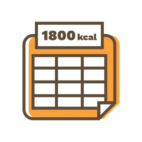 gotowe diety 1800