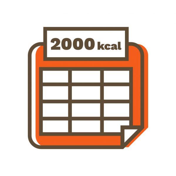 gotowe diety 2000
